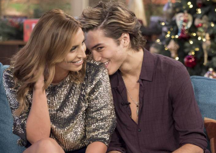 Ferne McCann and George Shelley 'This Morning' TV show, London, Britain - 10 Dec 2015 Fresh from the jungle, Ferne McCann and George Shelley, tell us about their romance.