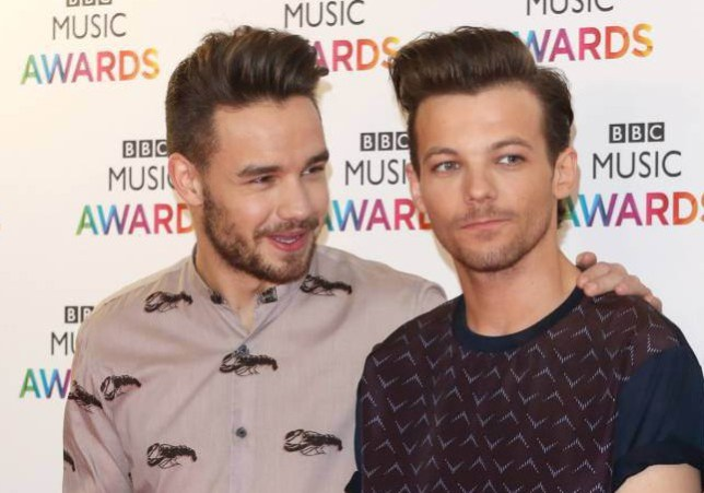 BBC Music Awards 2015 held at the Genting Arena - Arrivals Featuring: One Direction, Liam Payne, Louis Tomlinson Where: Birmingham, United Kingdom When: 10 Dec 2015 Credit: WENN.com