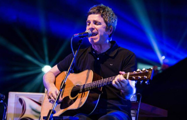 EDITORIAL USE ONLY/ NO MERCHANDISING - NO ARCHIVING, NOT TO BE USED BEYOND 10 FEB 2016.. Mandatory Credit: Photo by Richard Isaac/REX Shutterstock (5490717j).. Noel Gallagher's High Flying Birds. Noel Gallagher performs an acoustic set as an opening performance prior to his main electric performance.. Noel Gallagher's High Flying Birds in Concert, Royal Albert Hall, London, Britain - 10 Dec 2015.. ..