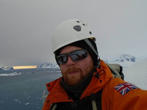 Adventurer quits job at McDonald's to work as a janitor in the Antarctic