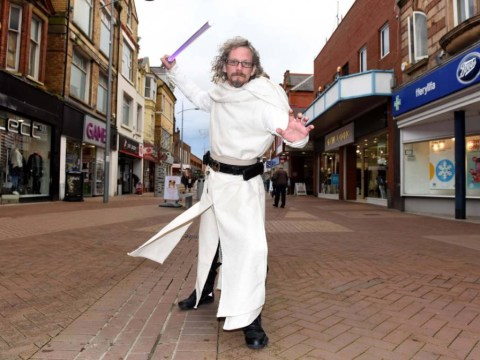 Meet Kevin, a real life Jedi Knight from Wales struggling to find love