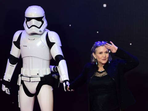 Star Wars legend Carrie Fisher has the best message for any body shaming haters out there