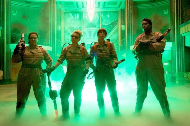 "Melissa McCarthy, Kate McKinnon, Kristen Wiig and Leslie Jones (Left to Right) are exactly who you're going to call in the upcoming ""Ghostbusters"" reboot. 17 December 2015. Please byline: Supplied by Vantage News Vantage News does not claim any copyright or licence in the attached material any downloading fees charged by Vantage News are for Vantage News services only, and do not, nor are they intended to, convey to the user any copyright or licence in the material. By publishing the material, the user expressly agrees to indemnify and to hold Vantage News harmless from any claims, demands, or causes of action arising out of or connected in any way with user's publication of the material."