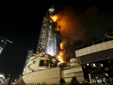 British man ties disabled mum to his back to flee burning Dubai skyscraper