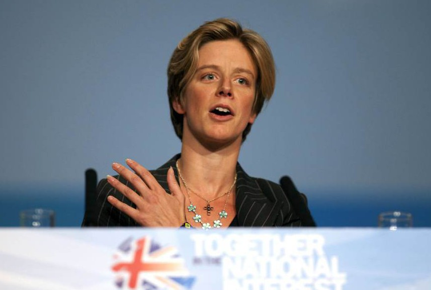 British Politician Charlotte Leslie addressing at Conservative Party Annual Conference in ICC Birmingham, England. Mandatory Credit: Photo by David Hartley/REX (1229546ah)