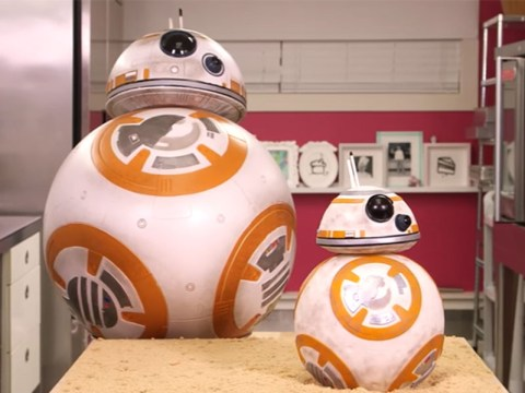 Here's how to make a cake that looks like BB8 from Star Wars…