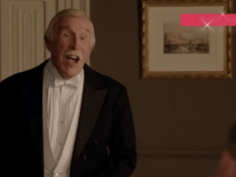TEXT SANTA: Downton Abbey gets its own Brucie Bonus, Isobel Crawley marks him down in Strictly spoof