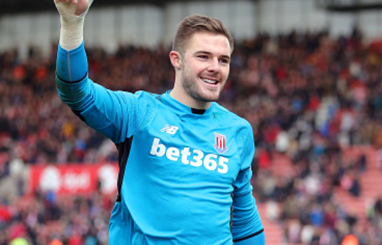 Stoke City ace Jack Butland donates £5,000 to Great Britain Deaf Women's football team for 2016 World Cup
