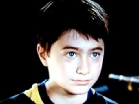 Watch: Daniel Radcliffe's original audition for Harry Potter is just adorable