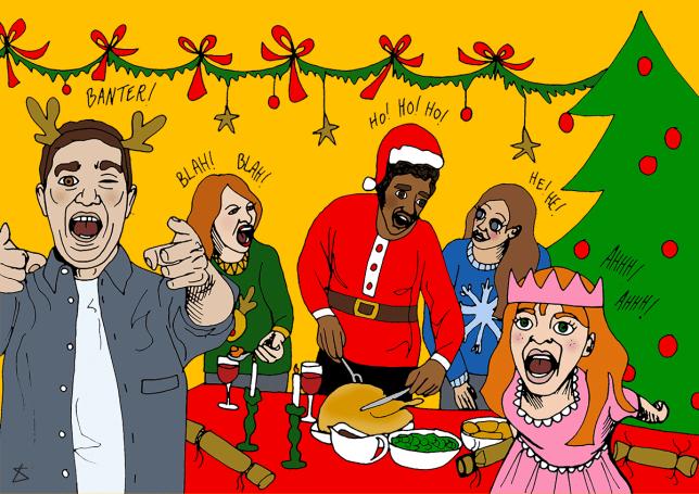 How to survive Christmas with an annoying family PresentTantrum_Illustration_Liberty Antonia Sadler_Metro