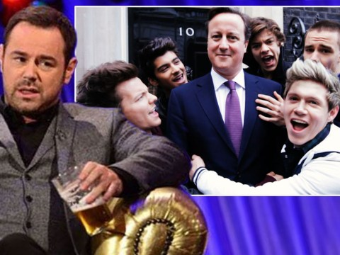 'Drunk' Danny Dyer allegedly lets rip at David Cameron and One Direction in 'chaotic' Chatty Man appearance