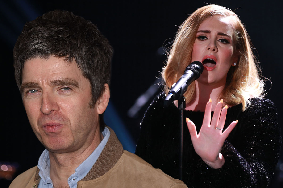 Noel Gallagher slams Adele's album 25 as 'cheesy music for f***ing grannies'