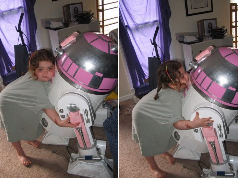 Star Wars: The Force Awakens will feature a droid designed by a fan for his terminally ill daughter