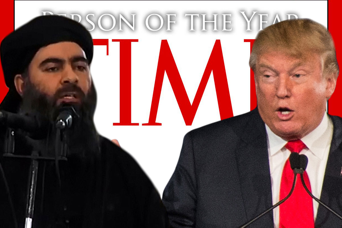 TIME Person Of The Year 2015 Donald Trump, ISIS Leader Among Shortlisted Contenders Getty