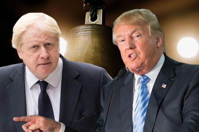 Boris Johnson Donald Trump Getty / Alamy