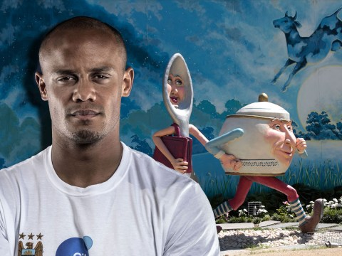 Manchester City captain Vincent Kompany has been tweeting out nursery rhyme videos