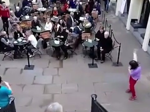 This woman dancing in Covent Garden inspires all our dancing goals
