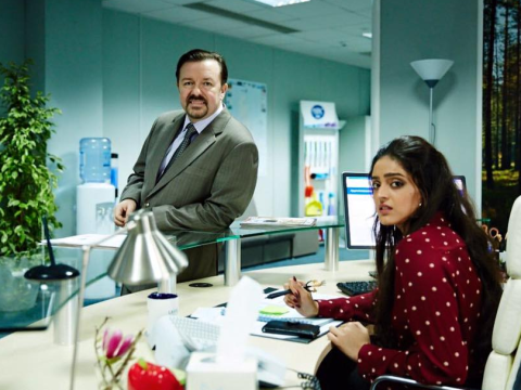 First look as David Brent returns to The Office in new Ricky Gervais film