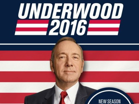 House of Cards returns to office in March for series four – and Frank Underwood is 'only getting started'