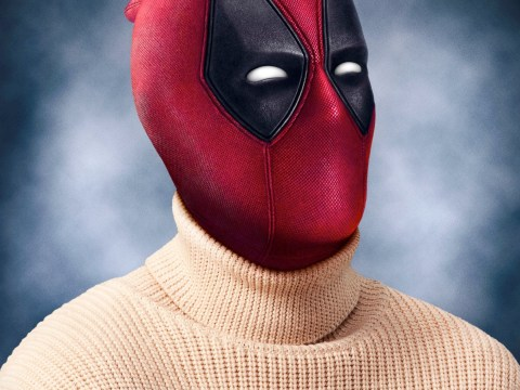 EXCLUSIVE: It's Christmas Jumper Day and Deadpool totally got involved