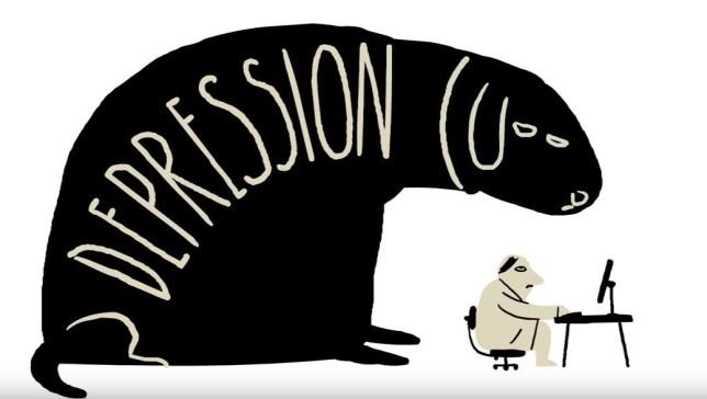 ted ed depression cartoon
