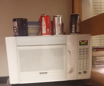 This occult-obsessed microwave is probably possessed by the devil