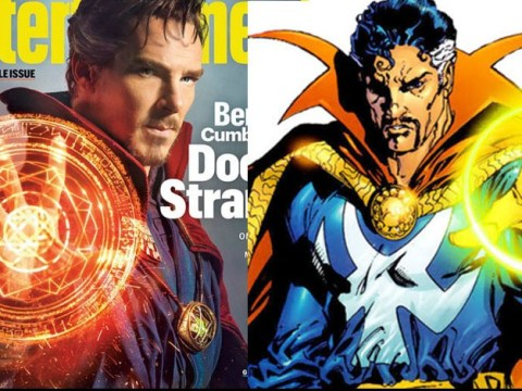 Benedict Cumberbatch promises 'crazy s**t' in Doctor Strange as first picture arrives