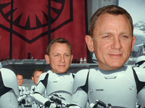 Daniel Craig DOES appear in The Force Awakens – and here's where you can see him