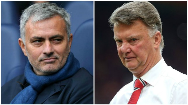 Jose Mourinho looks set to replace Louis van Gaal (Picture: Getty/Getty)