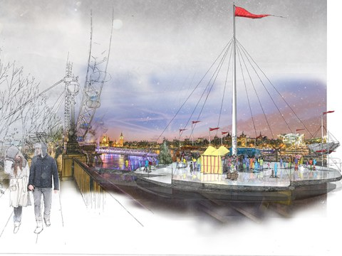 Ice skating on the Thames could become a reality once more