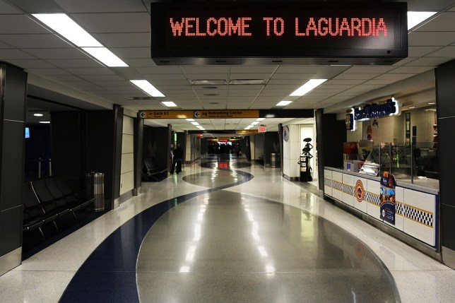 LaGuardia Airport is viewed on November 7, 2012 in New York (Picture: Getty Images)