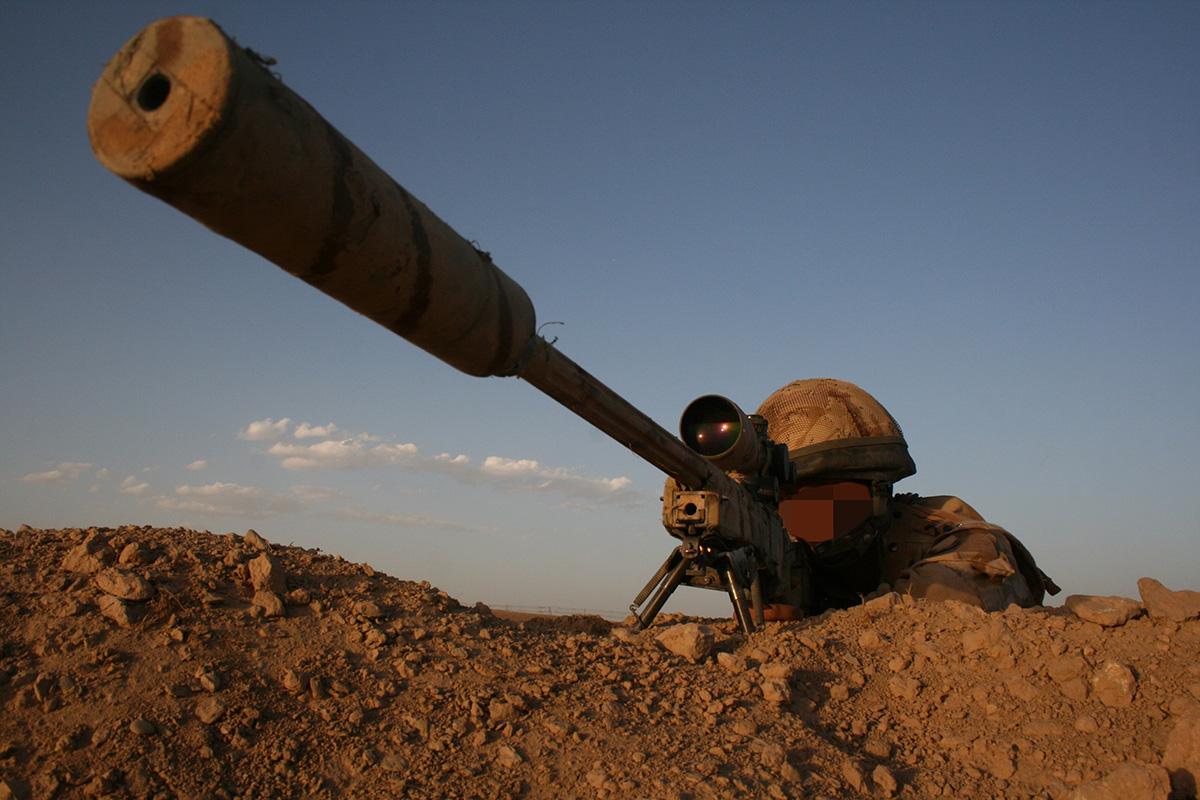 British army sniper, north of Musa Qala, Helmand, Afghanistan Credit: Getty