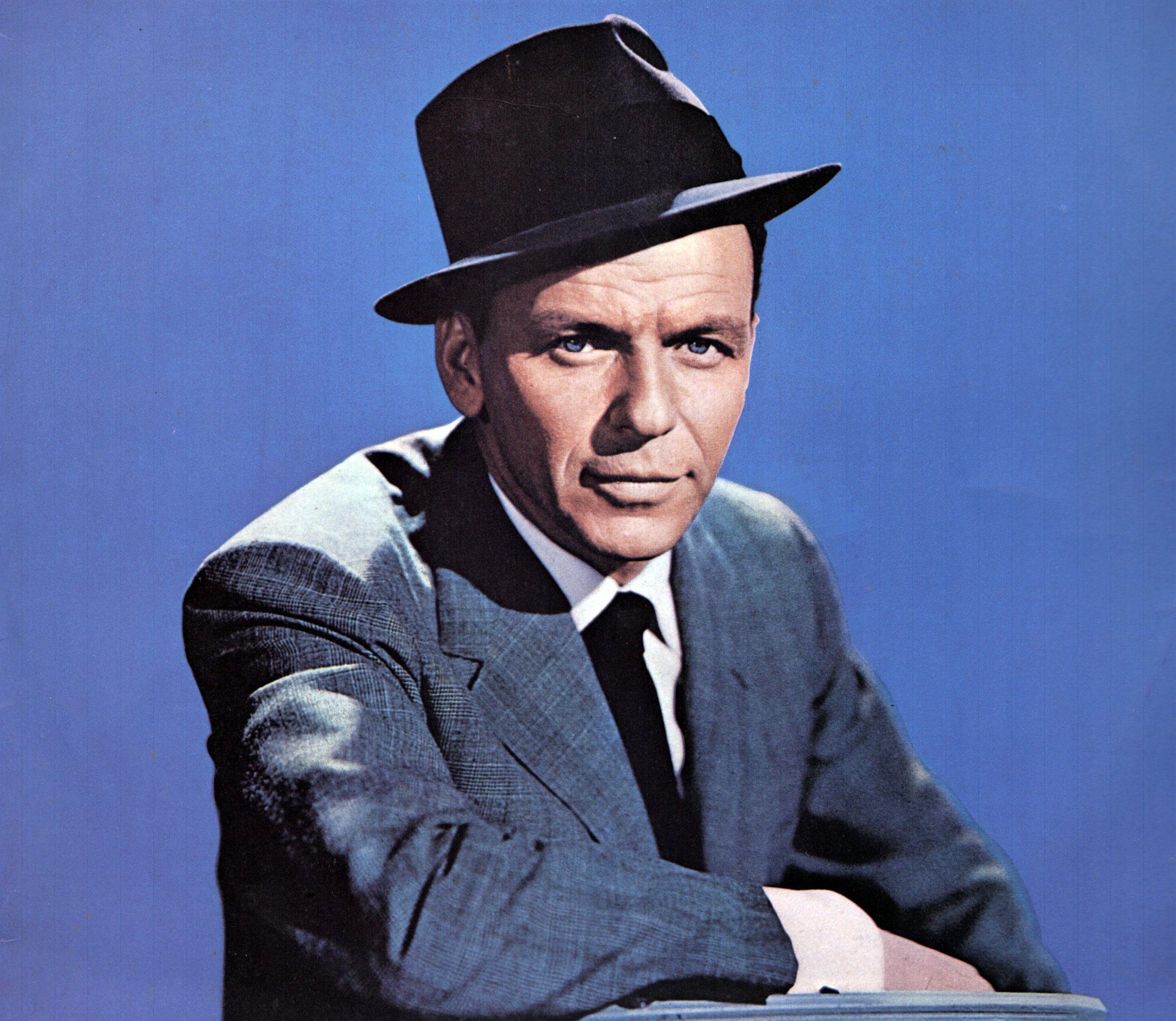 UNSPECIFIED - JANUARY 01: (AUSTRALIA OUT) Photo of Frank SINATRA; posed, studio (Photo by GAB Archive/Redferns)