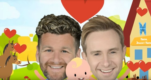 H from Steps has become a dad (Picture: Ian H Watkins/Youtube)
