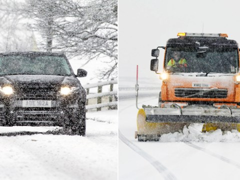 Flood-hit Cumbria sees first signs of snow