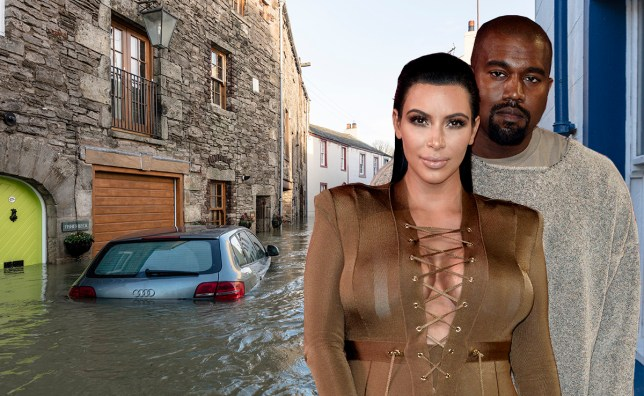 People thought Storm Desmond was the name of Kim and Kanye's new baby