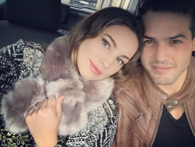 Kelly Brook 'engaged for the fourth time to French model Jeremy Parisi'
