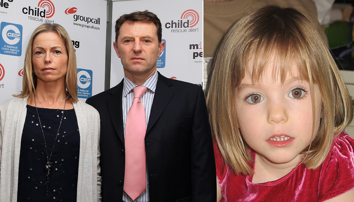 McCanns set to launch last-ditch bid to find Maddie before police funding runs out