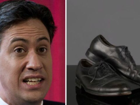 Somebody just bought Ed Miliband's old shoes for £277 (and spent £415 on Jeremy Corbyn's)
