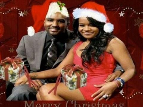 Nick Gordon shares Photoshopped Christmas greeting of him and late fiancée Bobbi Kristina Brown