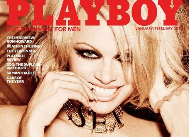 Pamela Anderson in Playboy