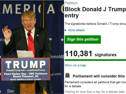 Could Donald Trump really be banned from entering the UK?