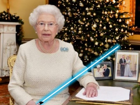 The Queen totally drops a Star Wars reference in her Christmas message