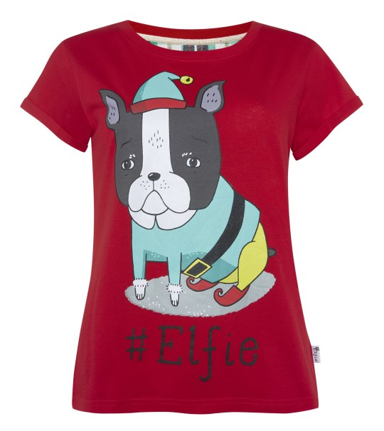 French Bulldog Christmas Jumper.Can You Spot The Massive Penis On This Primark Christmas