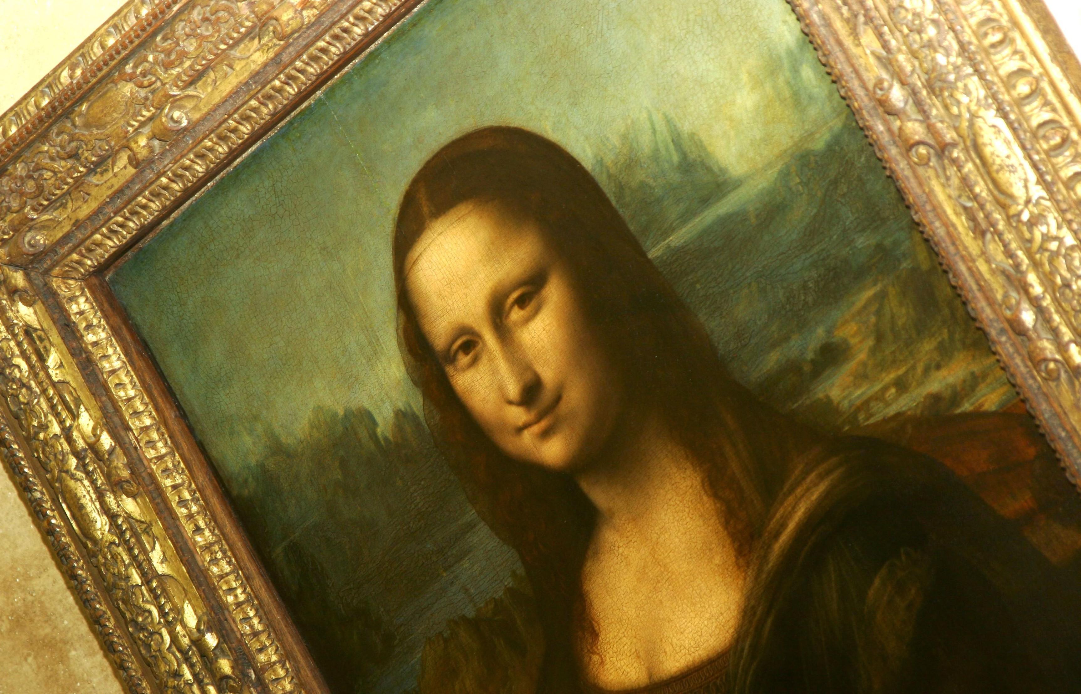 Mandatory Credit: Photo by Heloise Bergman/REX Shutterstock (2850846a) Louvre Mona Lisa Paris France Louvre Mona Lisa