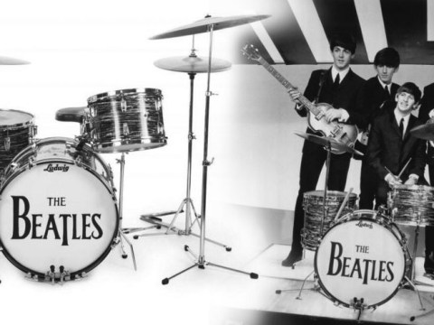 The Beatles legend Ringo Starr's drum kit sells for an eye-watering $2.1 million