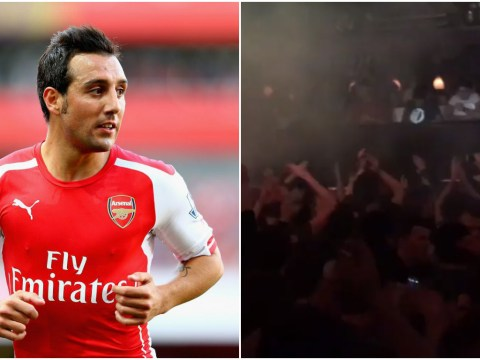 Arsenal fans hijack DJ EZ's concert with Santi Cazorla song – he's a Tottenham fan