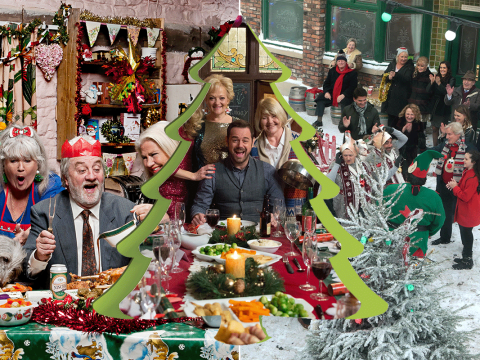 16 things that always happen in soaps over the Christmas period
