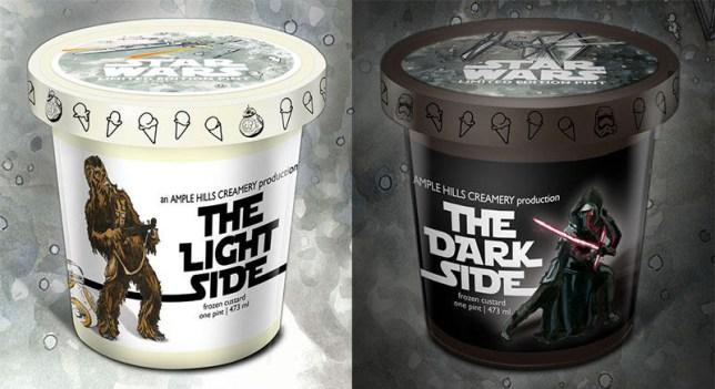 Star Wars ice cream