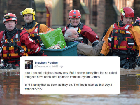 Ukip candidate has a theory about what caused Storm Desmond (and this time it's not gay marriage!)